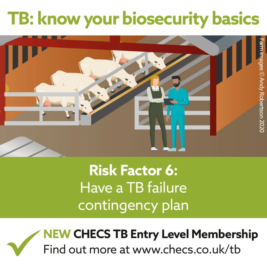 Have a TB failure contingency plan
