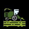 Farm Equipment Icon